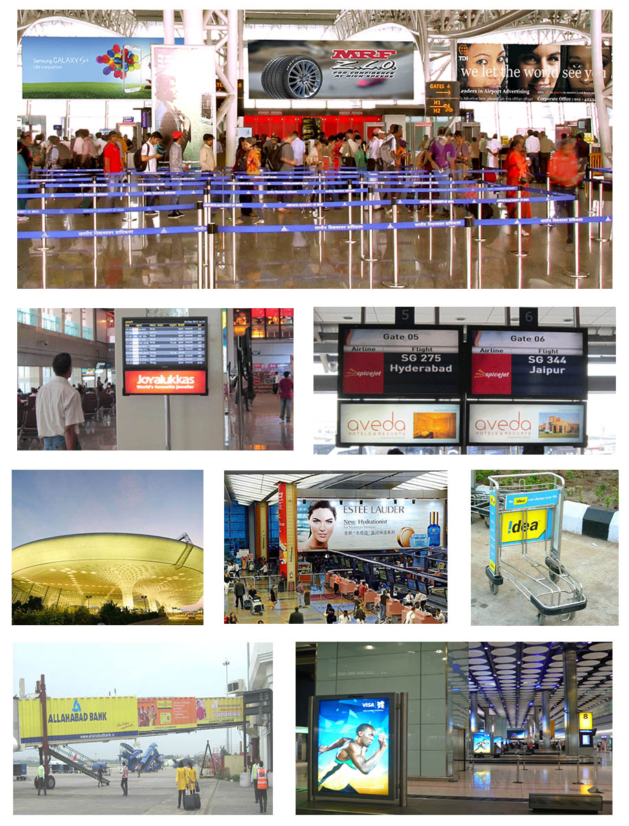 airport advertising solutions in India