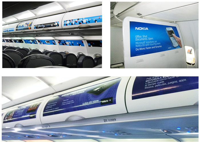 In flight advertising specialists agency in Mumbai India