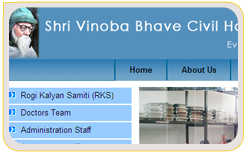 Vinoba Bhave Civil Hospital, Silvassa